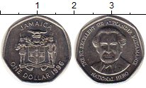 Изображение Монеты Ямайка 1 доллар 1996 Медно-никель UNC-