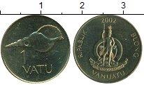 Изображение Монеты Вануату 1 вату 2002 Латунь UNC-
