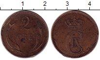 Изображение Монеты Дания 2 эре 1892 Бронза XF