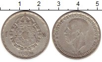 Изображение Монеты Швеция 1 крона 1948 Серебро XF Густав V