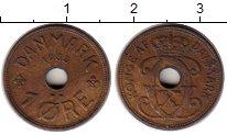 Изображение Монеты Дания 1 эре 1933 Бронза XF