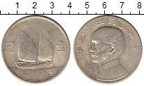Изображение Монеты Азия Китай 1 доллар 1934 Серебро XF