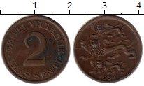 Изображение Монеты Эстония 2 сенти 1934 Бронза VF