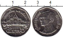 Изображение Монеты Таиланд 5 бат 2005 Медно-никель XF Рама IX