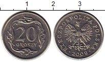 Изображение Монеты Польша 20 грош 2009 Медно-никель XF