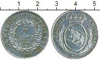Изображение Монеты Берн 5 батзен 1808 Серебро UNC-