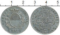Изображение Монеты Швейцария Фрибург 5 батзен 1830 Серебро UNC-