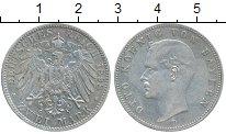 Изображение Монеты Бавария 2 марки 1898 Серебро XF Отто