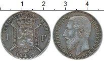 Изображение Монеты Европа Бельгия 1 франк 1887 Серебро XF