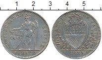 Изображение Монеты Швейцария Вауд 10 батзен 1823 Серебро UNC-