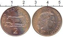 Изображение Монеты Гернси 2 пенса 2003 Бронза UNC-