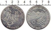 Изображение Монеты Португалия 1000 эскудо 2000 Серебро UNC- Предсеательство Порт
