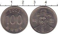 Изображение Монеты Южная Корея 100 вон 2002 Медно-никель UNC-