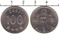 Изображение Монеты Южная Корея 100 вон 2001 Медно-никель UNC-