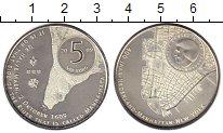 Изображение Монеты Нидерланды 5 евро 2009 Посеребрение UNC 400 лет открытия о.М