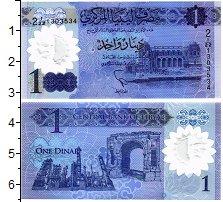 Изображение Банкноты Ливия 1 динар 2019  UNC