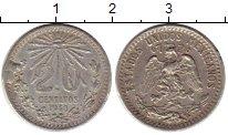 Изображение Монеты Мексика 20 сентаво 1940 Серебро XF-