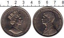 Изображение Монеты Фолклендские острова 50 пенсов 1985 Медно-никель UNC- Елизавета II.  Откры