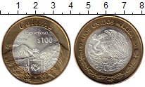 Изображение Монеты Мексика 100 песо 2006 Биметалл UNC- Колима