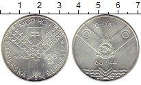 Изображение Монеты Европа Словакия 200 крон 1994 Серебро UNC