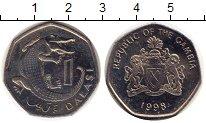 Изображение Монеты Гамбия 1 даласи 1998 Медно-никель UNC-