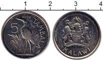 Изображение Монеты Малави 5 тамбала 1995 Медно-никель UNC-