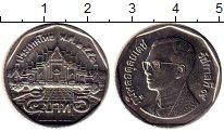 Изображение Монеты Таиланд 5 бат 2008 Медно-никель UNC Рама IX
