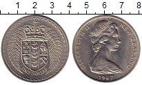 Изображение Монеты Новая Зеландия 1 доллар 1967 Медно-никель XF