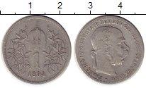 Изображение Монеты Австрия 1 крона 1894 Серебро VF