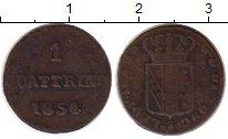 Изображение Монеты Италия Тоскана 1 кватрино 1854 Медь VF