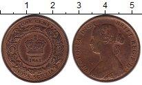 Изображение Монеты Канада Новая Скотия 1 цент 1861 Медь XF