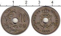 Изображение Монеты Бельгия 10 сантим 1906 Медно-никель VF