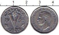 Изображение Монеты Канада 5 центов 1945 Медно-никель VF Георг VI