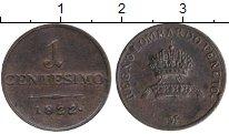 Изображение Монеты Италия Венеция 1 чентезимо 1822 Серебро XF