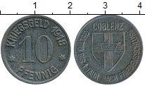 Изображение Монеты Германия : Нотгельды 10 пфеннигов 1918 Железо XF
