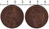 Изображение Монеты Великобритания 1 пенни 1948 Бронза VF