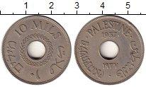 Изображение Монеты Палестина 10 милс 1937 Медно-никель XF