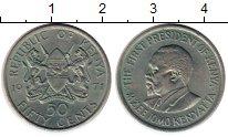 Изображение Монеты Кения 50 центов 1971 Медно-никель UNC-