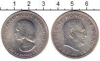 Изображение Монеты Дания 5 крон 1964 Серебро UNC-