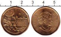Изображение Монеты Канада 1 доллар 2011 Латунь UNC 100-летие первого на