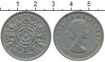 Изображение Дешевые монеты Великобритания 2 шиллинга 1963 Медно-никель XF