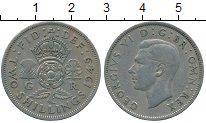Изображение Дешевые монеты Великобритания 2 шиллинга 1949 Медно-никель XF-