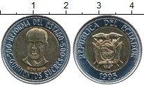 Изображение Дешевые монеты Эквадор 500 сукре 1995 Биметалл XF