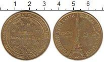 Изображение Монеты Франция Жетон 2008 Латунь XF Эйфелева башня