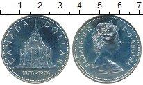 Изображение Монеты Канада 1 доллар 1976 Серебро Proof-