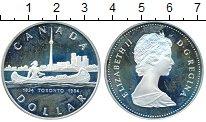 Изображение Монеты Канада 1 доллар 1984 Серебро Proof-