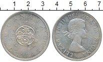 Изображение Монеты Канада 1 доллар 1964 Серебро UNC- 100 лет городу Квебе
