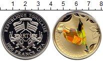 Изображение Монеты Африка Того 1000 франков 2010 Серебро Proof