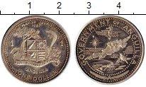 Изображение Монеты Северная Америка Ангилия 1 доллар 1969 Серебро Proof-