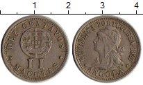 Изображение Монеты Ангола 2 макуты 1927 Медно-никель XF-